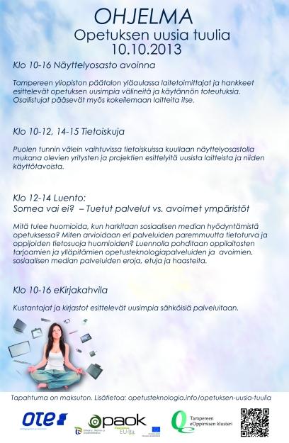 Opetuksen uusia tuulia 2013 -ohjelma