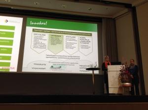 Tiina Korhonen, Minna Kukkonen ja Innovatiivisen koulun idea